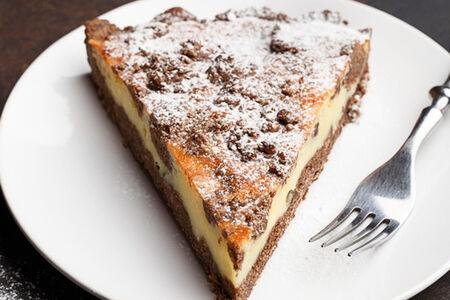 Шоколадный торт с домашним сыром
