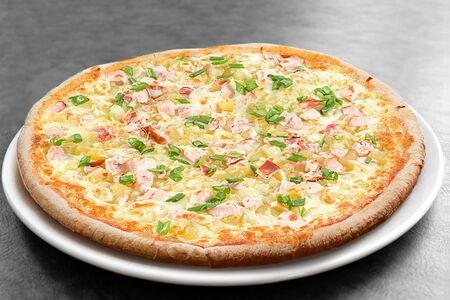 Пицца с картофелем и курицей средняя