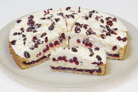 Торт Бруснично-Кремовый