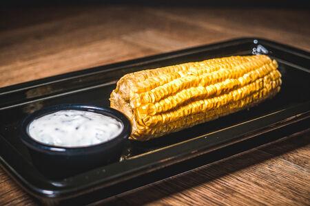 Копченая кукуруза