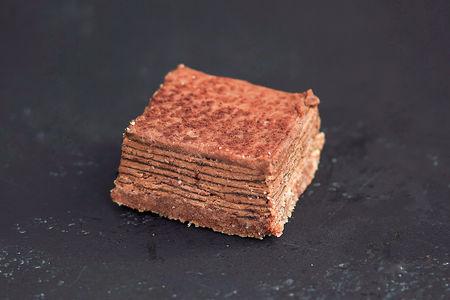 Торт Наполеон шоколадный мини