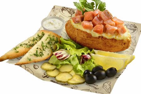 Картофель Премиум с красной рыбкой