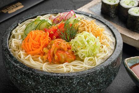 Суп Большая порция Кук-су с овощами