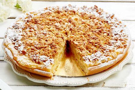 Пирог Яблочный С Овсяными Хлопьями