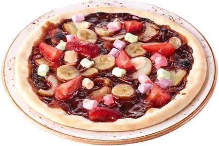 Мини-пицца с фруктами
