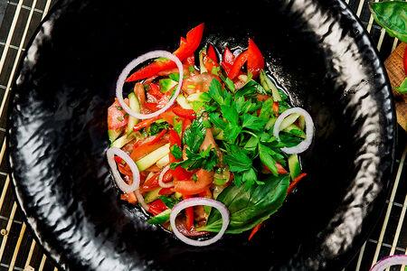 Салат овощной Вафу