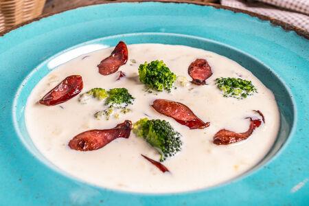 Сырный сливочный суп
