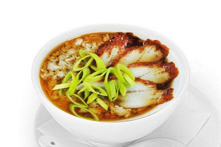 Суп с угрем