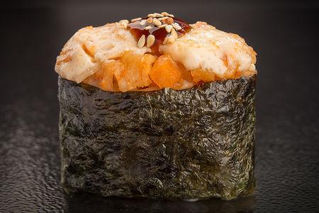 Суши запеченные с креветкой