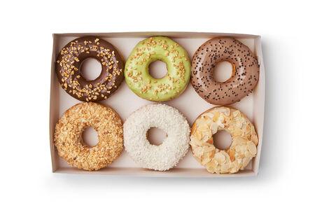 Набор из шести пончиков ассорти №3