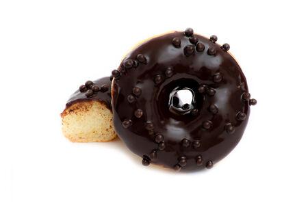 Пончик Шоколадный без начинки