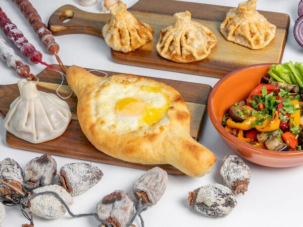 Хинкарули лавка грузинской еды