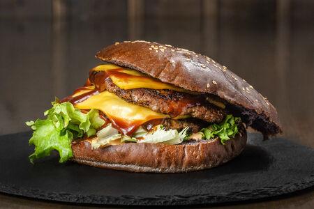 Бургер Мексиканский с говядиной