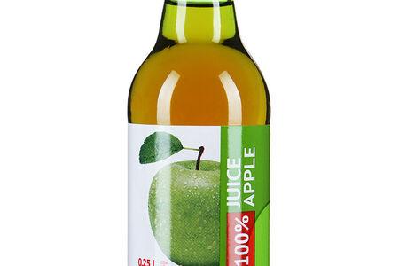 Сок натуральный яблочный