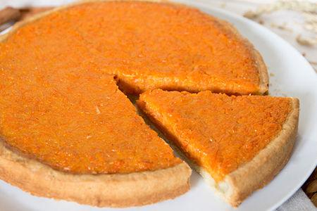 Пирог сладкий Морковный