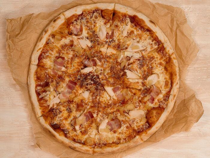 Пицца Каччиаторе барбекю