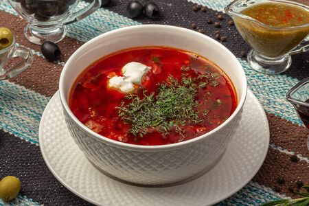 Суп Борщ мясной