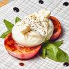 Фото к позиции меню Салат Буррата со сладкими томатами