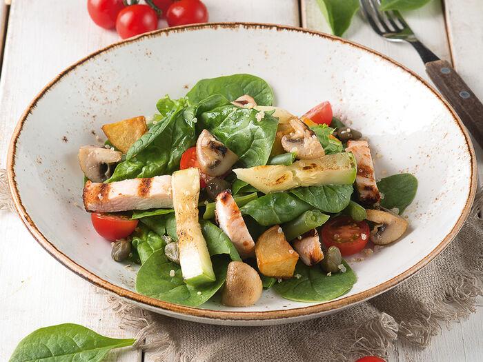Теплый салат Итальянский