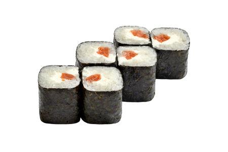 Ролл лосось-сыр