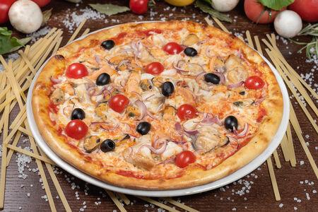 Пицца Тосканская с морепродуктами