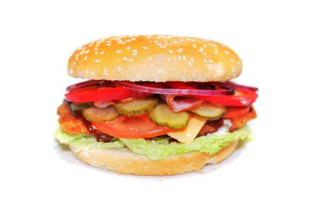 Чикенбургер Макси Барбекю
