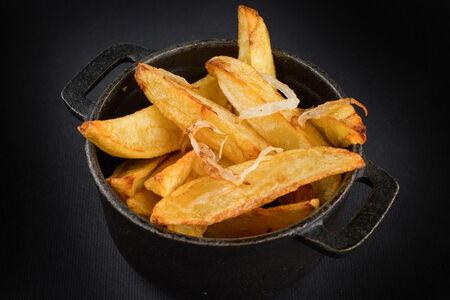 Картофель, жареный с луком