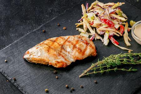 Куриное филе в греческом маринаде