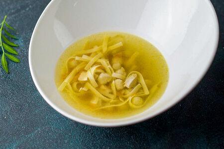 Суп Куриный с клёцками и домашней лапшой