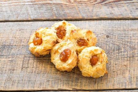 Печенье Песочное с абрикосом и миндалём