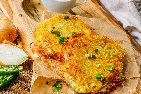 Тилапия в картофельной корочке