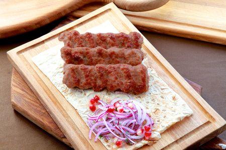 Шашлык люля-кебаб из телятины