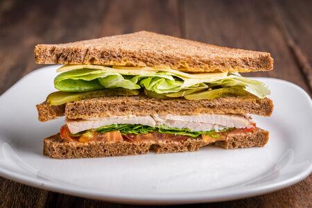 Клаб-сэндвич с индейкой