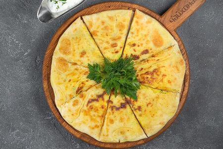 Домашний кабардинский пирог с картофелем