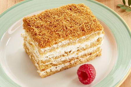 Торт Медовик порция