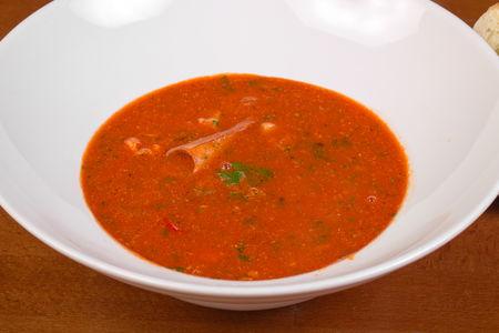 Суп с морскими гадами по-сицилийски