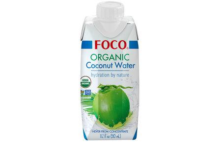 Органическая кокосовая вода Foco