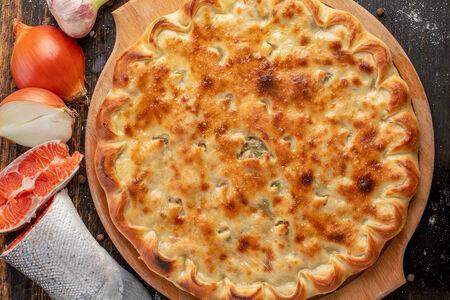 Осетинский пирог с морепродуктами