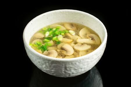 Суп куриный с грибами