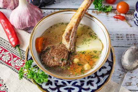 Суп Ташкентская шурпа