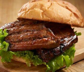 Бургер Ребро свинины