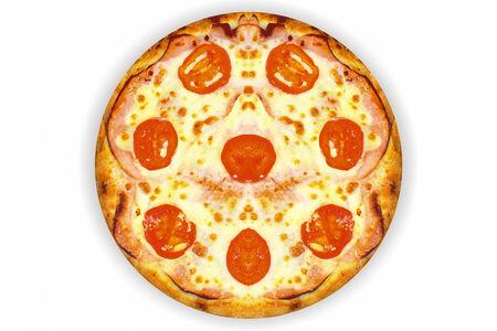 Пицца Ветчина с помидорами