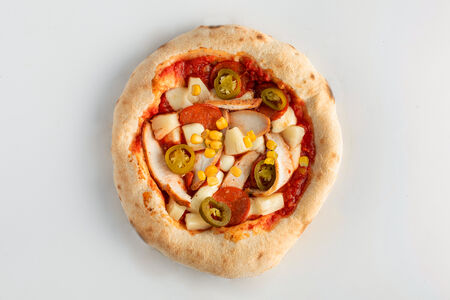 Пицца Мексиканская с кукурузой