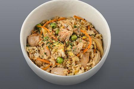 Рис с мясом цыпленка