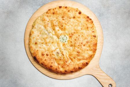 Пирог с шпинатом и осетинским сыром