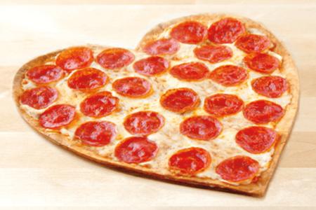 Пицца Сердце-Пепперони