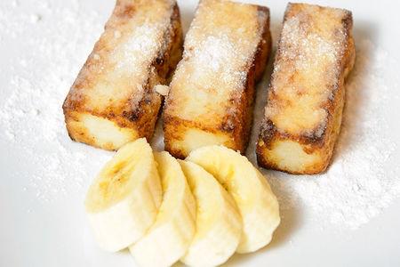 Жареное банановое молоко