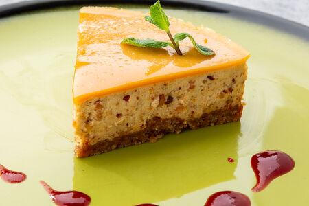 Сливочно-карамельный торт
