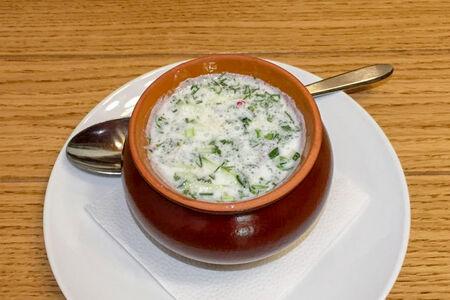 Суп Окрошка по-грузински