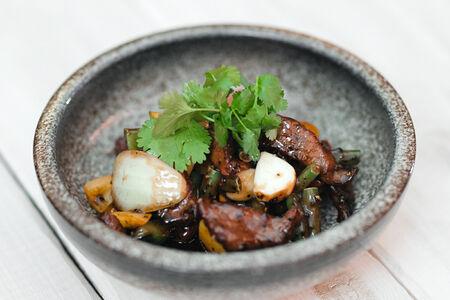 Говядина в соусе Чёрный перец